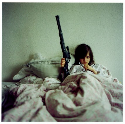 Angie 12-year-old gun